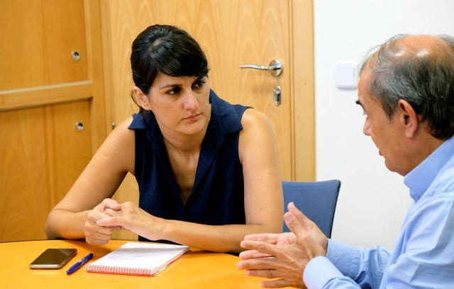 González Veracruz se compromete con UCOMUR a entablar un diálogo permanente con la economía social regional, Foto 1