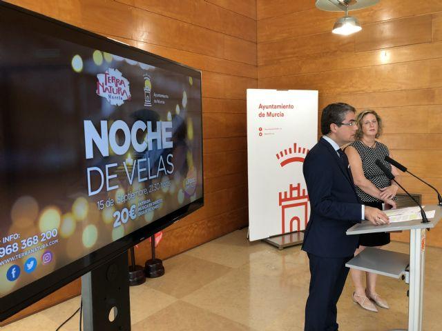 El Ayuntamiento de Murcia y Terra Natura vuelven a organizar la 'Noche de velas' con motivo de la Feria de Septiembre - 1, Foto 1