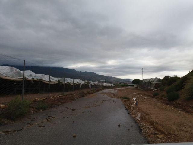 NP - DANA pasa por Alhama de Murcia sin incidencias destacables hasta el momento, Foto 1