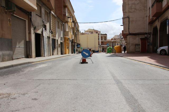 La calle Tomás Moro queda de doble sentido mientras duren las obras de los Postigos, Foto 2