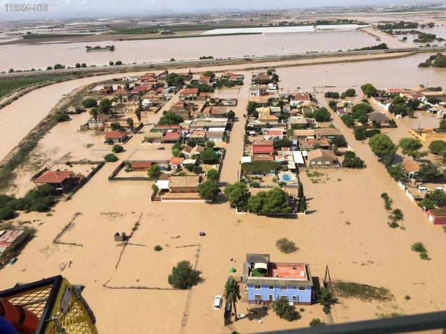El 1-1-2 ha gestionado desde ayer hasta las 14 horas de hoy 3.432 asuntos relacionados con las lluvias, Foto 1