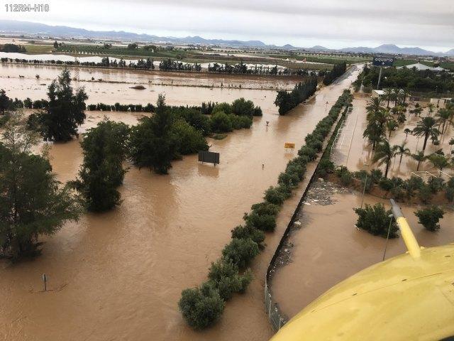El 1-1-2 ha gestionado desde ayer hasta las 14 horas de hoy 3.432 asuntos relacionados con las lluvias, Foto 2