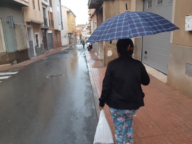 Aemet once again raises the alert in the Murcia region due to heavy rains of 40 l / m2 in one hour