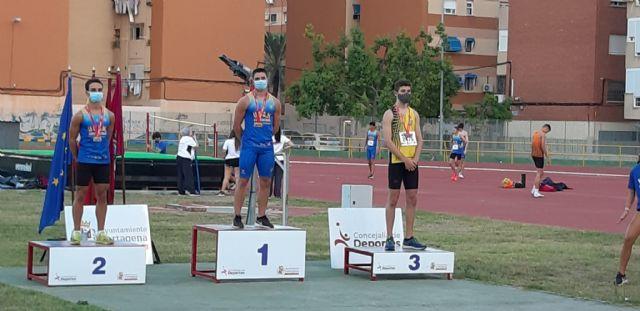 Nacional Absoluto y regionales sub20 y sub 18 para UCAM Atletismo Cartagena - 1, Foto 1