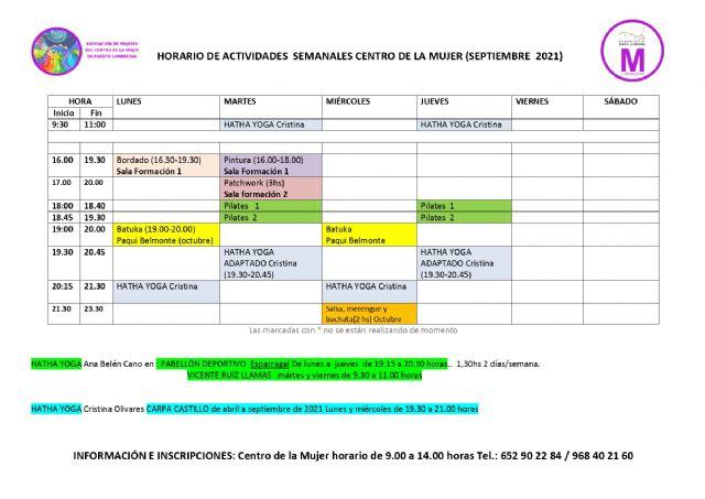 El Centro de la Mujer de Puerto Lumbreras retoma su oferta presencial de talleres y actividades - 1, Foto 1