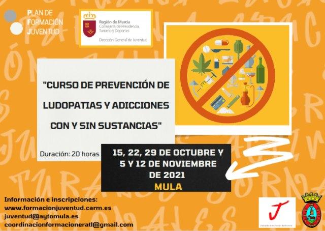 Convocatoria-curso: «Prevención de ludopatías y adicciones con y sin sustancias» - 1, Foto 1