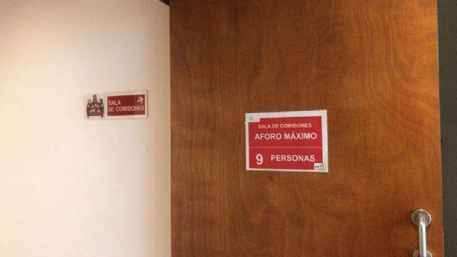 El PP denuncia que la reunión de la Junta Local de Seguridad celebrada el pasado viernes en el Ayuntamiento infringió las limitaciones de aforo establecidas por el COVID-19 - 1, Foto 1