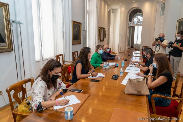 Noelia Arroyo: Queremos que el Ayuntamiento de Cartagena tenga una sola voz en la defensa del Mar Menor - 1, Foto 1