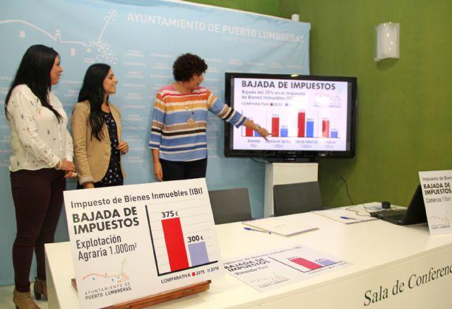 Puerto lumbreras el impuesto de bienes inmuebles baja un for Impuesto de bienes muebles