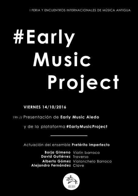 Presentación del Festival Early Music Aledo - 2, Foto 2