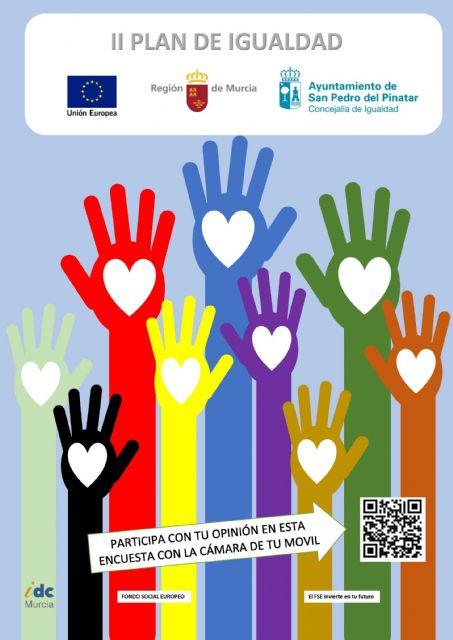 Participa en la elaboración del II Plan de Igualdad entre Mujeres y Hombres de San Pedro del Pinatar - 1, Foto 1