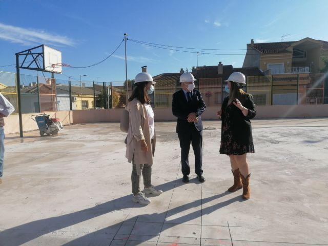 Educación inicia las obras de ampliación del colegio San José de Las Torres de Cotillas - 1, Foto 1