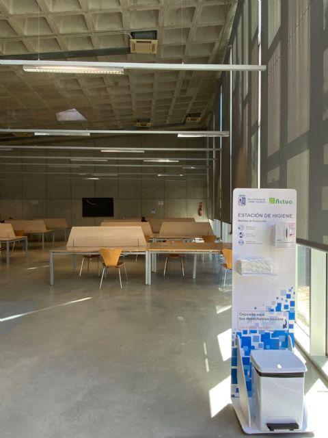 La Biblioteca Pública Municipal y la Sala de Estudio de Torre Pacheco abren al público - 2, Foto 2