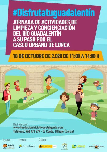 Este próximo domingo una parte del tramo urbano del cauce del río Guadalentín acogerá una jornada de limpieza y concienciación - 2, Foto 2