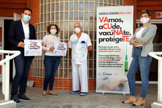 El centro de mayores de Santomera servirá como punto de vacunación contra la gripe - 1, Foto 1