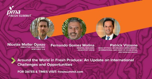 El director de PROEXPORT analiza el nuevo mercado europeo en la PMA Fresh Summit - 1, Foto 1