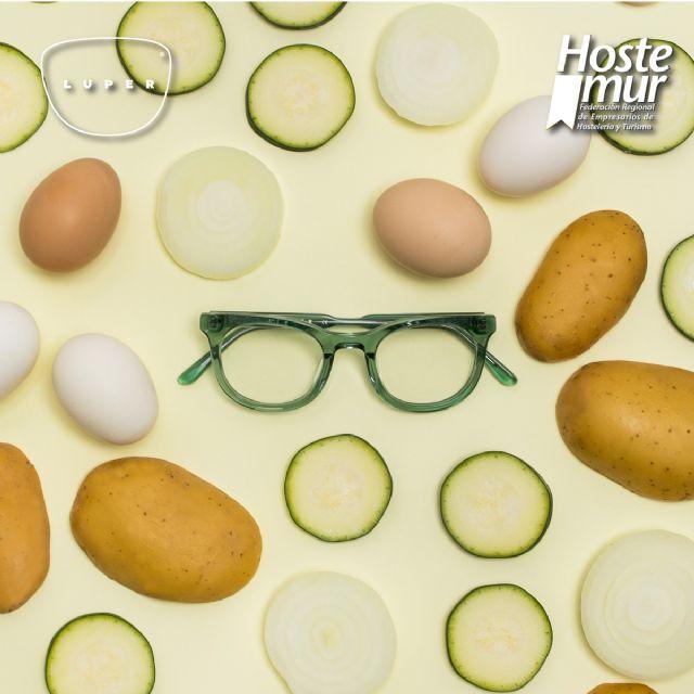 Gafas y platos típicos, así se une LUPER y HOSTEMUR para apoyar la hostelería en la Región - 2, Foto 2