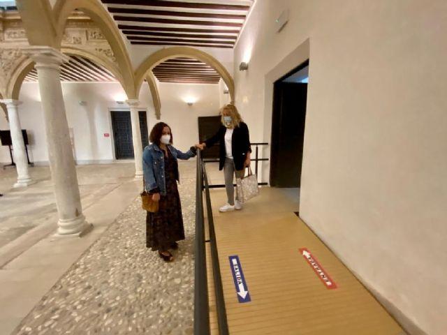 El Ayuntamiento de Lorca lleva a cabo trabajos en el interior del Palacio de Guevara - 1, Foto 1