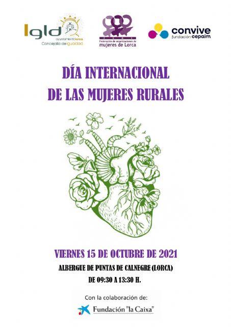Lorca conmemorará el Día Internacional de la Mujer Rural con una jornada de convivencia en el Albergue de Puntas de Calnegre el próximo viernes, 15 de octubre - 2, Foto 2