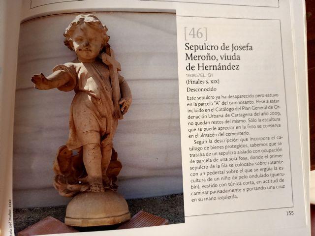 MC exige al Gobierno que retire la escultura fracturada aparecida en el cementerio de Los Remedios que debía estar en el almacén - 2, Foto 2