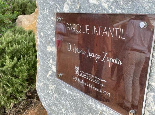El PSOE de San Javier critica que Luengo premie a Luengo con un parque cuando la Región pide su dimisión - 1, Foto 1