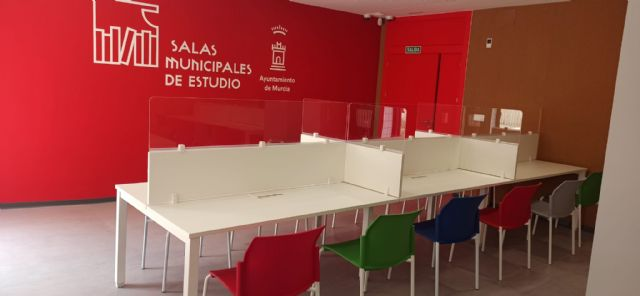 Aljucer cuenta desde hoy con una nueva sala de estudio 24 horas totalmente remodelada - 2, Foto 2