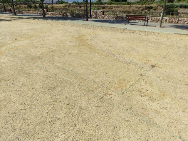 IU VERDES demanda la construcción de campos para la práctica de la petanca - 2, Foto 2