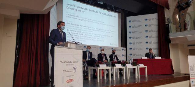 La Comunidad expone en Roma el modelo que ha llevado a la Región a ser un referente en depuración y reutilización de aguas residuales - 1, Foto 1