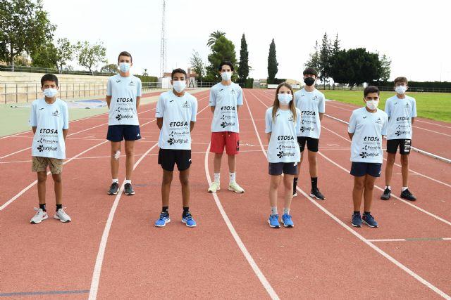 El equipo masculino Sub14 del Club Atletismo Alhama, al nacional de Gijón - 1, Foto 1