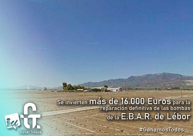 Se reparará definitivamente la E.B.A.R. de Lébor - 1, Foto 1