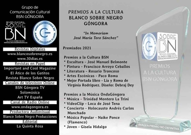 I Premios a la Cultura Blanco Sobre Negro Góngora - 1, Foto 1