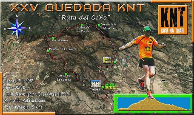 "The remaining XXV of the Group of Friends of the Mountain ""Kasi Ná Trail"" will be on the ""Ruta del Caño"" - 1"