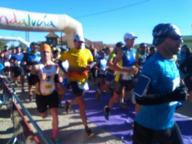 "The athlete Bartolomé Sánchez ""Memé"", from the Totana Athletics Club, participated in the II Enchanted Trail of Lugros (Granada) - 1"