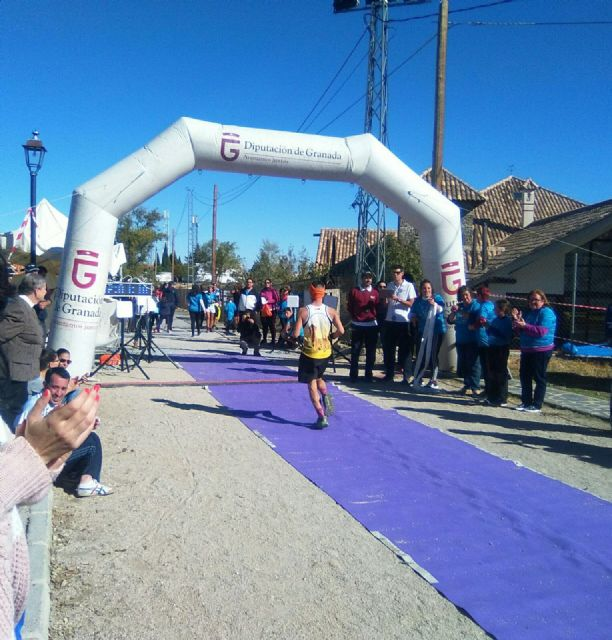"The athlete Bartolomé Sánchez ""Memé"", from the Totana Athletics Club, participated in the II Enchanted Trail of Lugros (Granada) - 3"