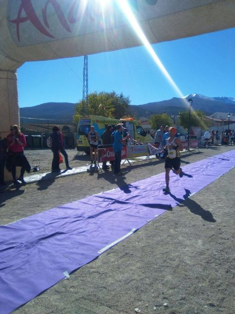 "The athlete Bartolomé Sánchez ""Memé"", from the Totana Athletics Club, participated in the II Enchanted Trail of Lugros (Granada) - 5"