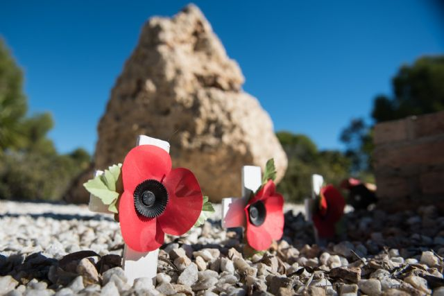 La comunidad británica cumplió con la tradición en el día de la memoria, Foto 4