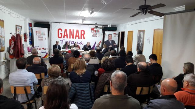 The Ganar Totana Assembly sets in motion a participatory process to add, with a majority vocation in the 2019 Horizon - 1