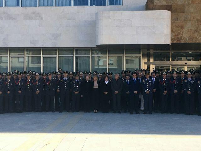 El alcalde declaró vecinos de San Javier a los nuevos alumnos de la AGA en su tradicional visita al Ayuntamiento - 4, Foto 4