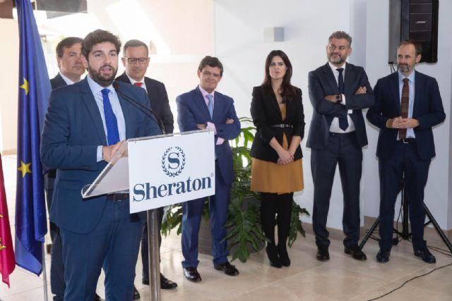 López Miras inaugura el hotel Sheraton Hacienda del Álamo Golf & Spa Resort - 1, Foto 1