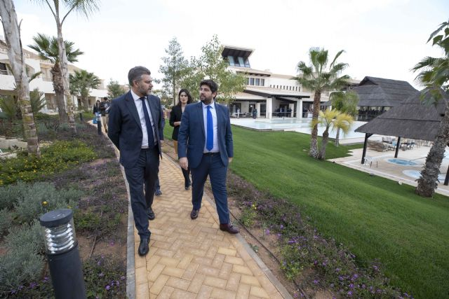 López Miras inaugura el hotel Sheraton Hacienda del Álamo Golf & Spa Resort - 3, Foto 3