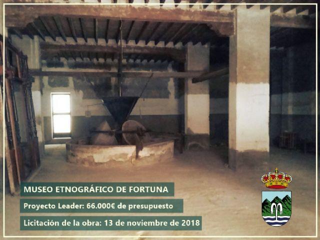 Se ha realizado el anuncio de licitación las obras para la construcción del Museo Etnográfico de Fortuna - 1, Foto 1
