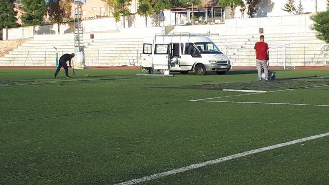 El Ayuntamiento de Pliego sigue mejorando las instalaciones deportivas con el arreglo de los vestuarios del campo de fútbol - 3, Foto 3
