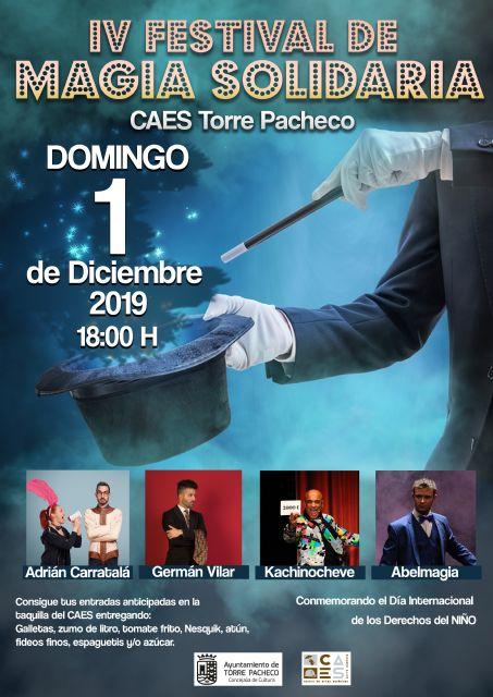 Con magia todo es posible – Un show mágico musical, para toda la familia en el Centro de Artes Escénicas de Torre Pacheco - 4, Foto 4