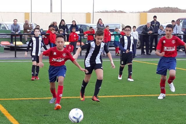 Publicados los horarios de la cuarta jornada de la Liga Comarcal de Fútbol Base de Cartagena - 1, Foto 1
