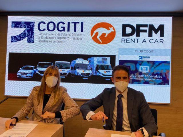 DFM Rent a Car y COGITI firman un acuerdo de colaboración para impulsar el tejido empresarial - 1, Foto 1