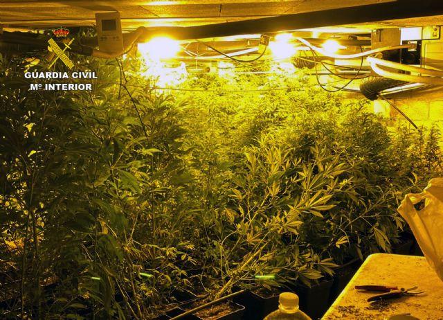 La Guardia Civil desmantela un invernadero subterráneo de con cerca de un millar de plantas de marihuana - 2, Foto 2