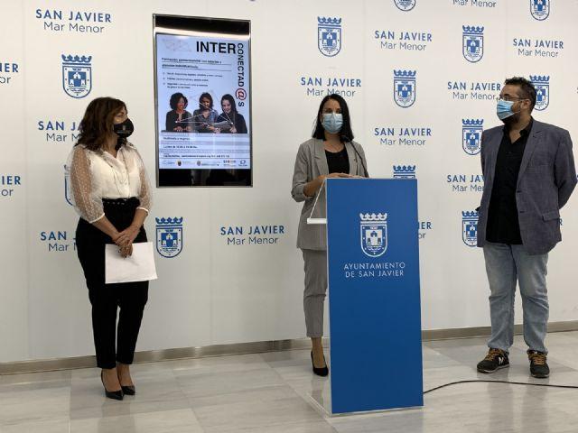 El programa Interconectad@s , de formación digital a mujeres vulnerables, se celebrará en San Javier, Torre Pacheco y Murcia - 2, Foto 2