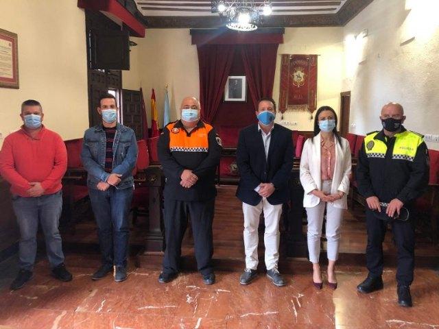Suscrito el convenio anual con la Agrupación de Voluntarios de Protección Civil de Mula - 1, Foto 1