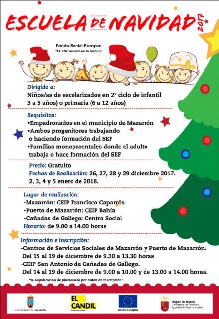 El ayuntamiento oferta el servicio de Escuelas de Navidad para fomentar la conciliación de la vida laboral y familiar, Foto 1