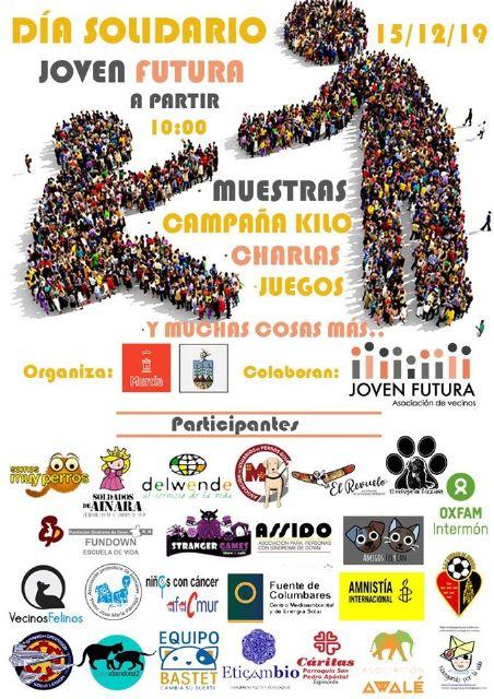 La solidaridad llega a Joven Futura el próximo domingo día 15 - 1, Foto 1